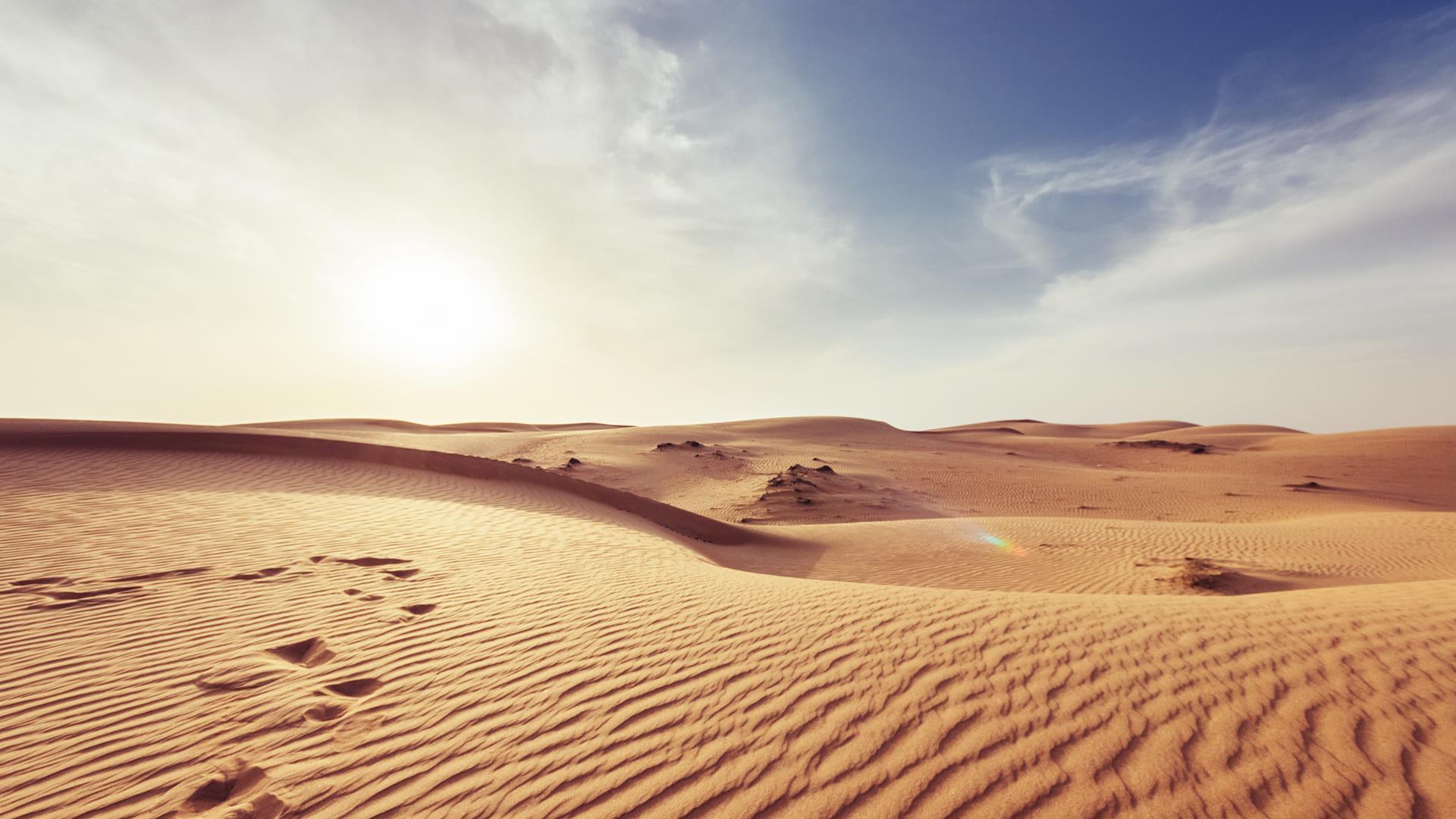 El desierto de Omán