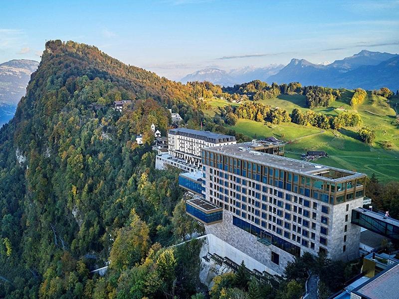 Suiza. Vistas al amanecer