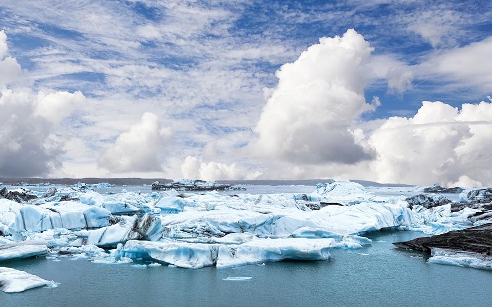 Navegar entre Icebergs en Islandia