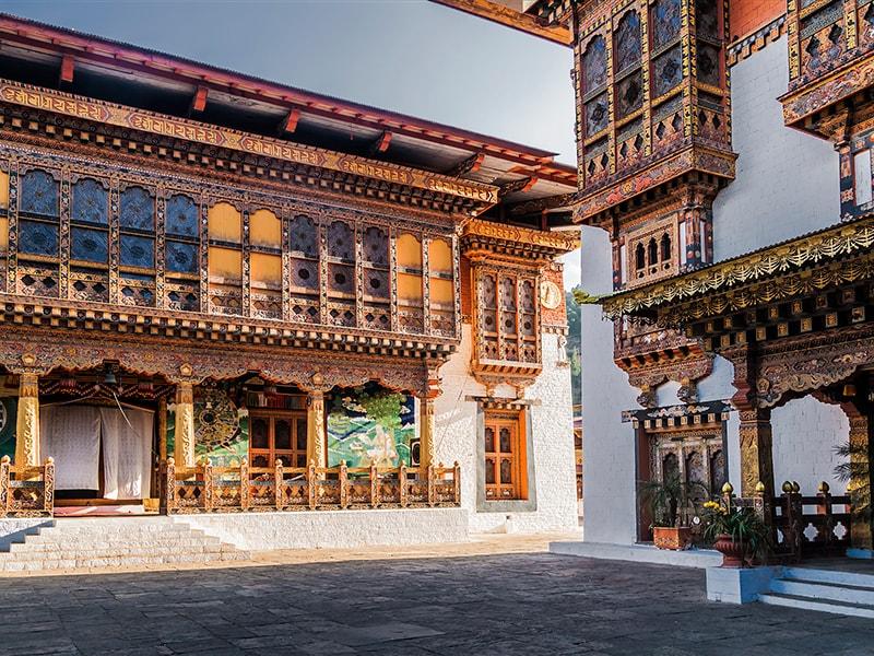 Bután. Alojarse en casa de una familia local