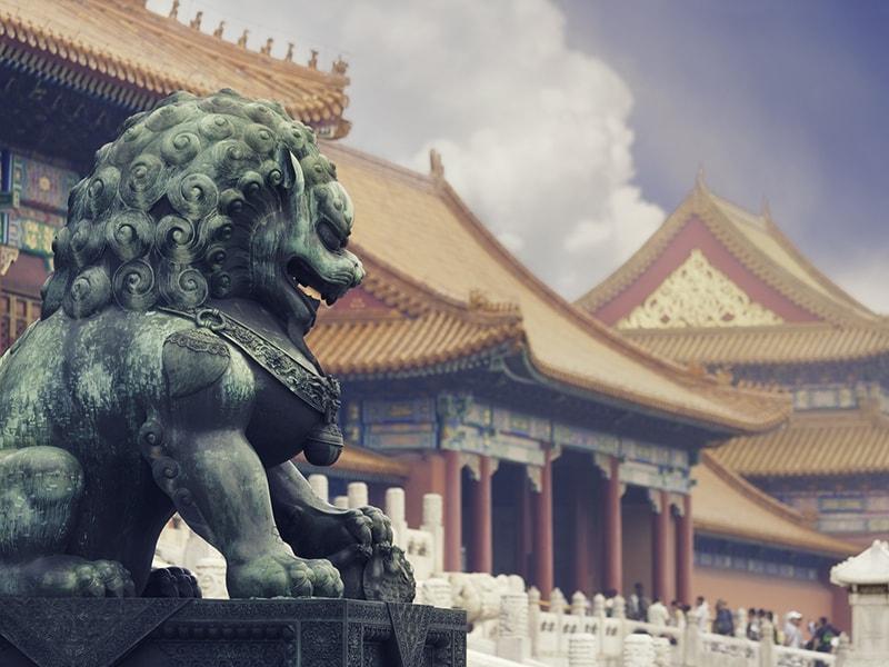 China. Los majestuosos palacios de la Ciudad Prohibida