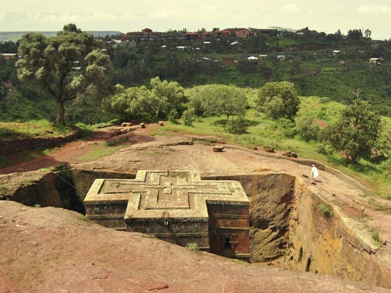 Etiopía. Contemplar la majestuosidad de la cruz dorada de Lalibela