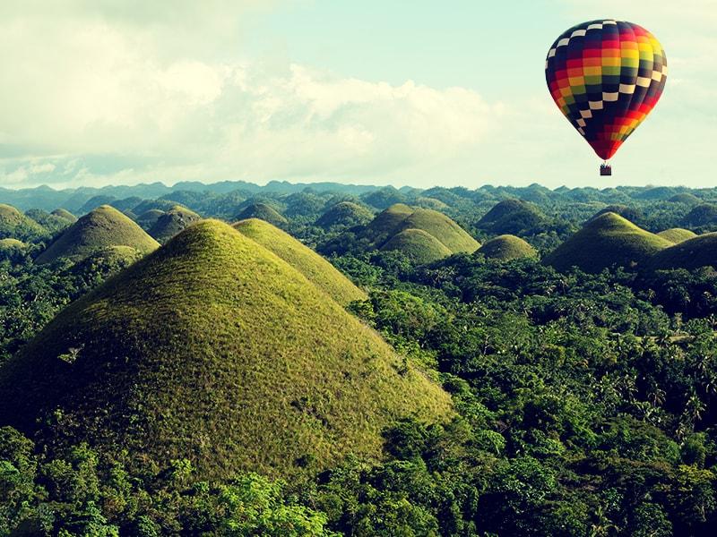 Filipinas. Recorrer las Colinas de Chocolate de Bohol