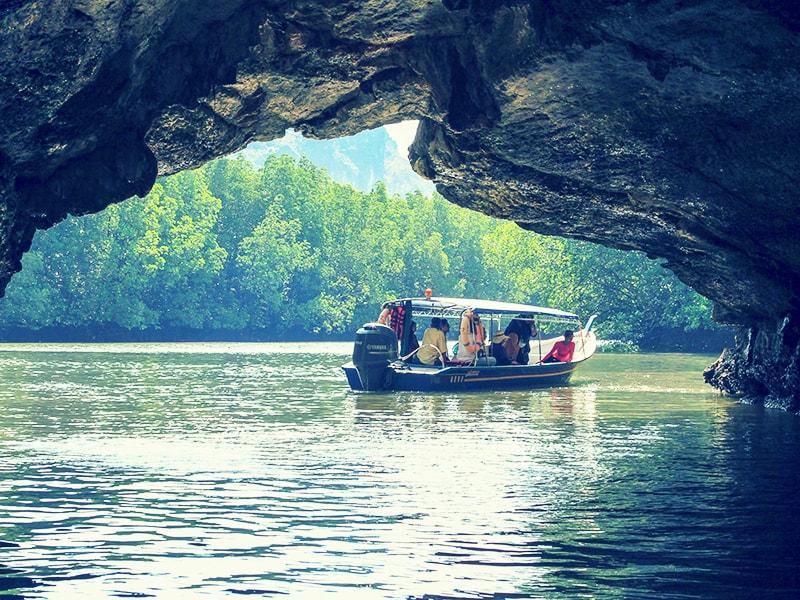 Malasia. Paseo en lancha privada por los manglares de la isla de Langkawi