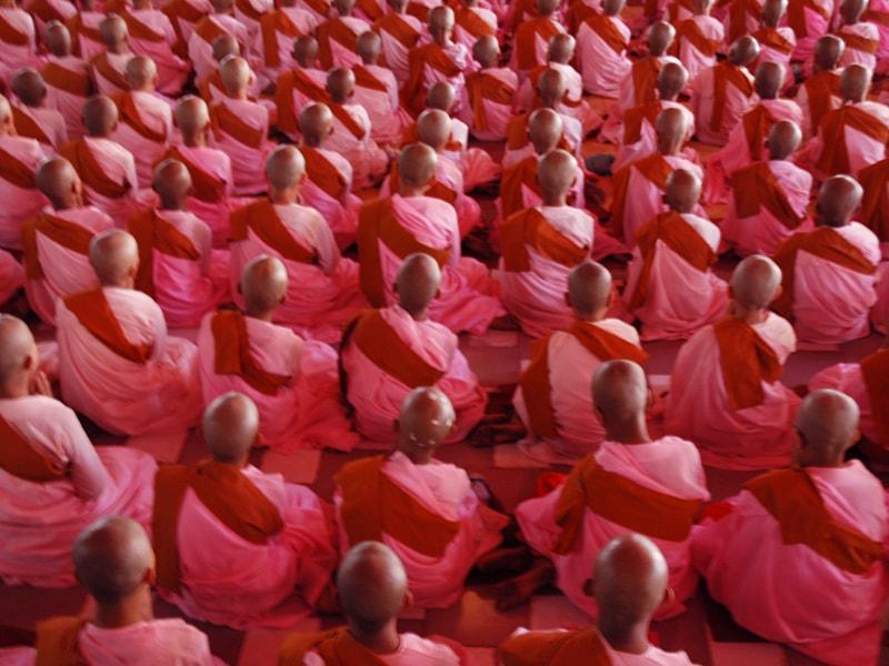 Myanmar. Participar en una ceremonia privada