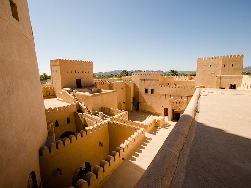 Omán. Descubrir el mágico poblado de Al Hamra y de Nizwa