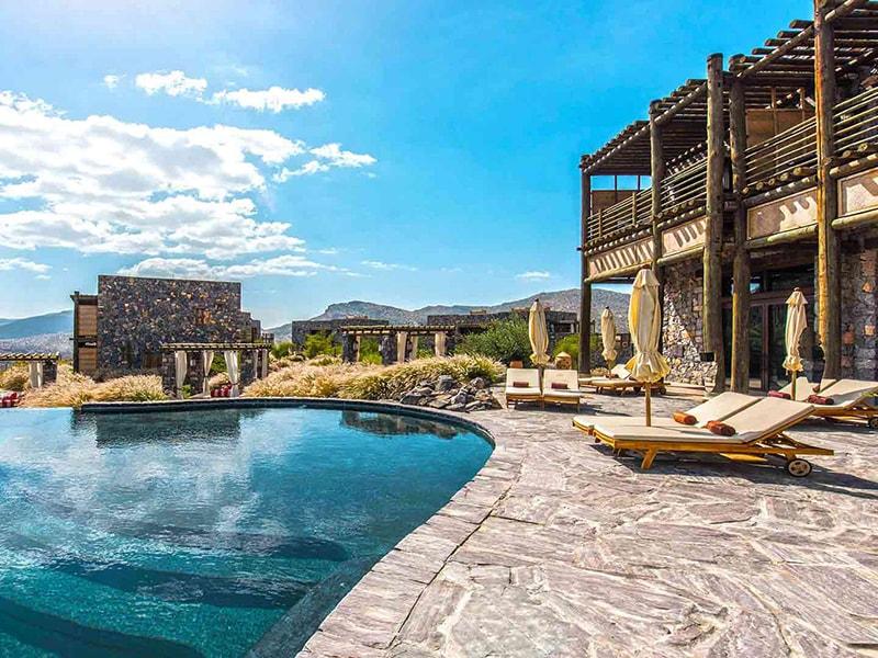 Omán. Descansar en un alojamiento exclusivo