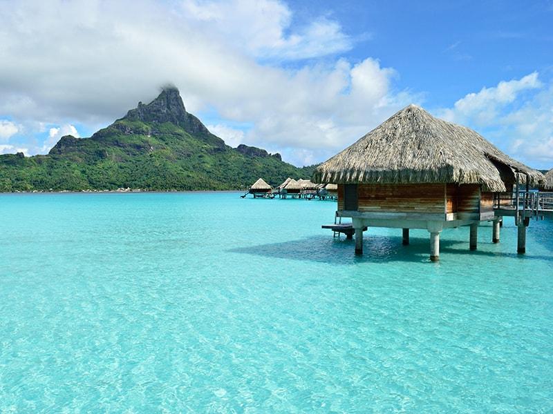 Polinesia. Descansar en un exclusivo alojamiento