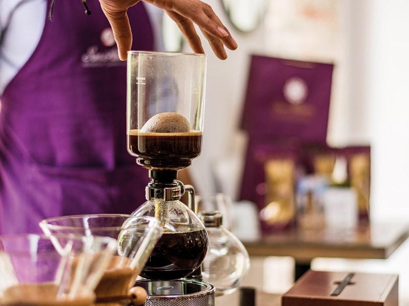 Colombia. Disfrutar de una cata privada de café molecular