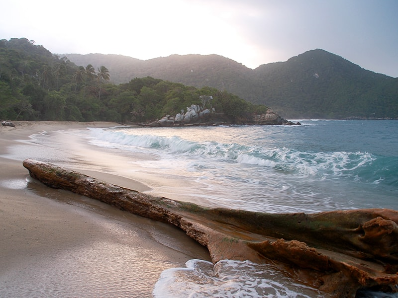 Colombia. Disfrutar de las playas vírgenes del Parque Nacional de Tayrona