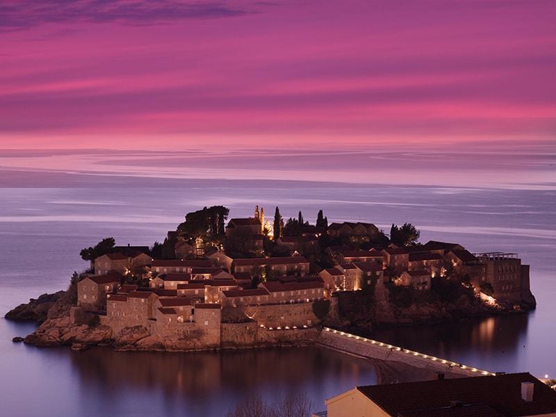 Croacia. Cena romántica en la playa privada