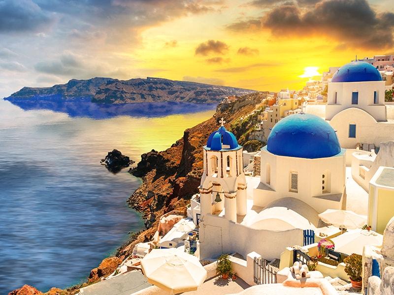 Grecia. Atardeceres mágicos en Santorini