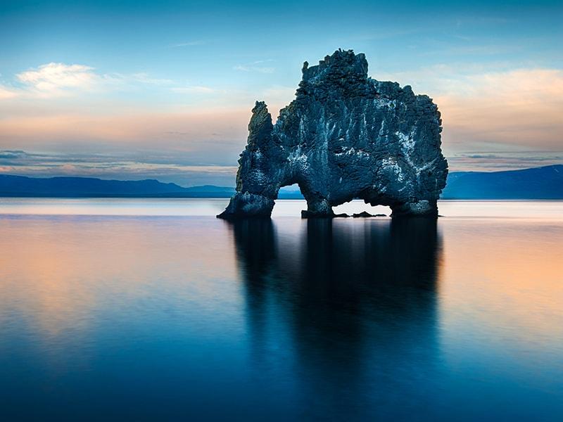 Islandia. La Península de los Trolls