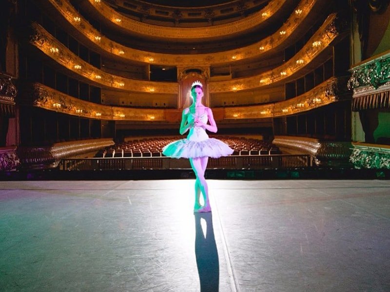 Rusia. Visitar el teatro Mikhailovsky