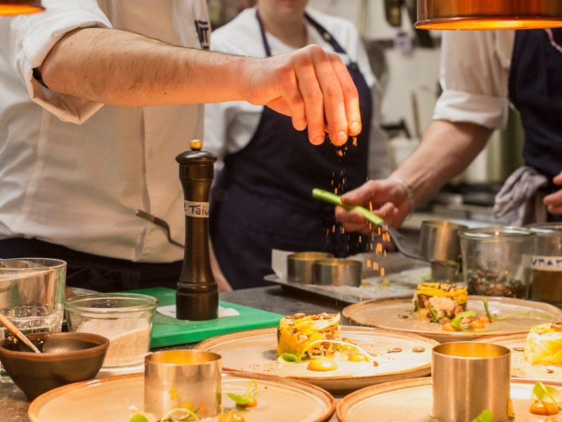 España. Show de cocina